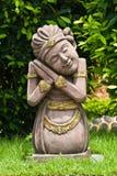 азиатский камень скульптуры повелительницы Стоковое Изображение