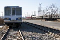 Азиатский китаец, Пекин, железнодорожный музей, положение Стоковая Фотография RF
