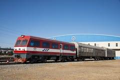 Азиатский китаец, Пекин, железнодорожный музей, положение Стоковая Фотография