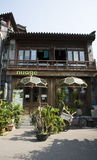 Азиатский китаец, Пекин, Shichahai, характеристики бар Стоковые Фотографии RF