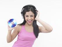 азиатский компакт-диск ее virgin Стоковые Фото