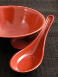 азиатский комплект тарелки Стоковое Фото