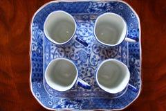 Азиатский комплект Dinnerware стоковое фото