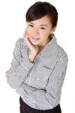 азиатский красивейший офис повелительницы Стоковые Изображения
