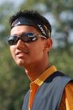 Азиатский мальчик в солнечных очках Стоковое Фото