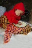 азиатский мальчик малый Стоковая Фотография