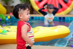 азиатский мальчик немногая Стоковые Фотографии RF