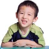 азиатский мальчик Стоковое Изображение