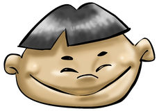 азиатский мальчик Стоковое Изображение RF