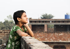 Азиатский маленький ребенок Стоковая Фотография RF