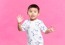 Азиатский маленький ребенок Стоковое Изображение RF