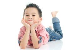 азиатский малыш Стоковая Фотография