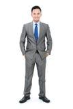 Азиатский молодой бизнесмен стоковое изображение rf