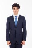 Азиатский молодой бизнесмен стоковые фотографии rf