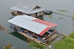 Азиатский дом рыболова стоковое фото rf