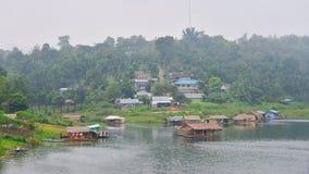 Азиатский дом рыболова стоковая фотография