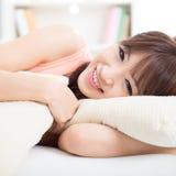 Азиатский отдыхать девушки Стоковое Фото