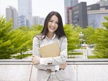 азиатский офис повелительницы Стоковое фото RF