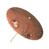 Азиатский парасоль ретро Стоковое фото RF