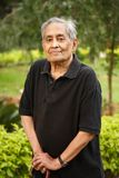азиатский пожилой человек Стоковое Фото