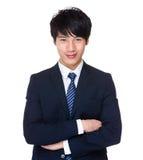 азиатский портрет бизнесмена Стоковая Фотография RF