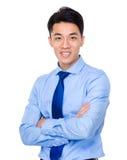 азиатский портрет бизнесмена Стоковые Изображения