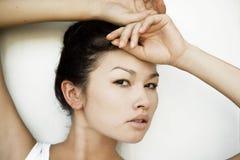 азиатский портрет девушки Стоковые Фотографии RF