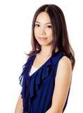 Азиатский портрет женщины Стоковое Фото