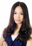 Азиатский портрет женщины Стоковая Фотография RF