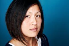 Азиатский портрет женщины стоковые фото