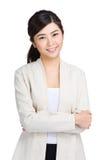Азиатский портрет женщины Стоковое фото RF