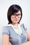 азиатский портрет коммерсантки Стоковые Фотографии RF