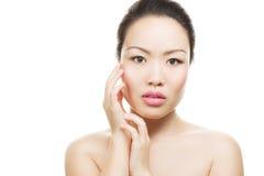 Азиатский портрет красотки Стоковое Изображение RF