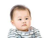 Азиатский портрет младенца стоковое фото
