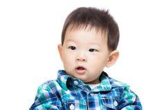 Азиатский портрет ребёнка Стоковые Фотографии RF