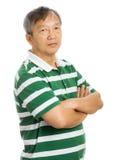 Азиатский портрет старика Стоковое Фото