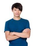 азиатский портрет человека Стоковая Фотография RF