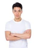 азиатский портрет человека стоковое изображение