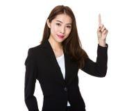 Азиатский подсчитывать коммерсантки Стоковые Фотографии RF