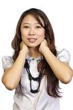 азиатский представлять модели Стоковое Фото