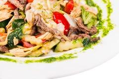 Азиатский пряный салат стоковые фотографии rf