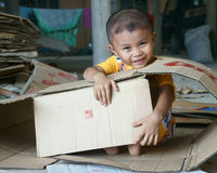 Азиатский ребенк, въетнамские дети Стоковое Фото