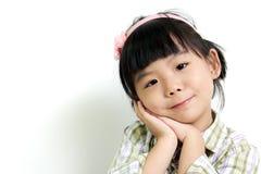 азиатский ребенок Стоковое Изображение