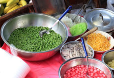 азиатский рынок еды Стоковая Фотография