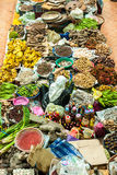 Азиатский рынок - рынок Siti Khadijah, Kelantan стоковые изображения