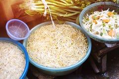 азиатский рынок Стоковое Изображение RF