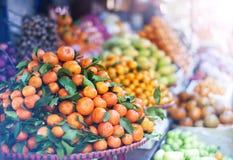 азиатский рынок Стоковые Фото