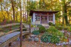 азиатский сад Стоковая Фотография RF
