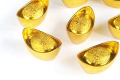 азиатский символизированный подъем слитка экономии Стоковое фото RF