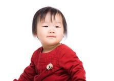 Азиатский смеясь над младенец стоковые изображения rf